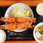 【宮崎】究極の大きなえびフライを食べました!